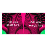 Magnificent Sunrise Reflections Fractal Photo Cards
