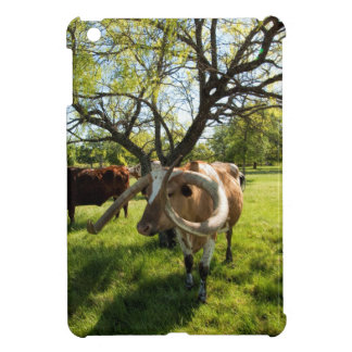 Magnificent Texas Longhorn Cattle iPad Mini Covers