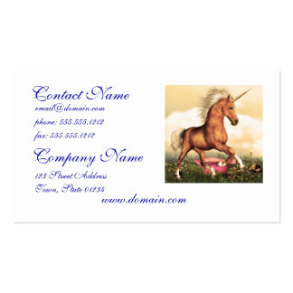Magnificent Unicorn Business Card