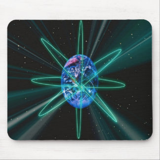Magnificent, Visable Earth Orbits Mouse Mat