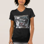 Magnificent White Tiger Ladies'  Shirt