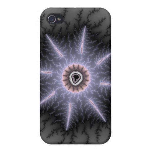 Magnífico - fractal iPhone 4/4S funda