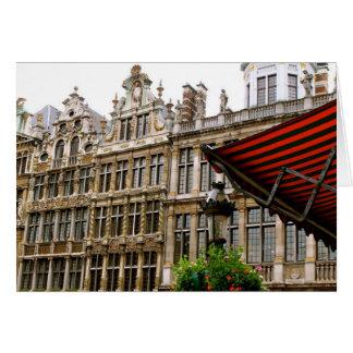 Magnífico-Lugar de Bruselas Tarjeta De Felicitación