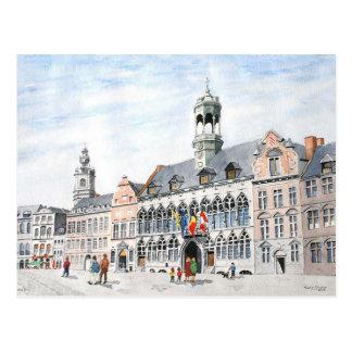 Magnífico-Lugar del La, Mons, Bélgica Tarjetas Postales