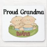 Magnífico orgulloso de gemelos alfombrillas de raton