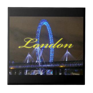 ¡Magnífico! Rueda Londres del milenio Azulejo