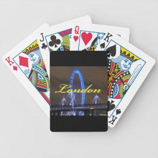 ¡Magnífico! Rueda Londres del milenio Baraja Cartas De Poker