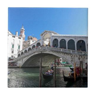 ¡Magnífico! Última Venecia, Rialto, Gran Canal Teja Ceramica