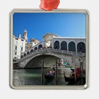 ¡Magnífico! Última Venecia, Rialto, Gran Canal Ornamento Para Arbol De Navidad