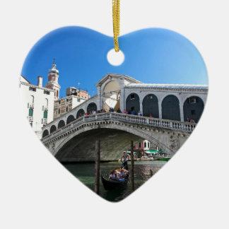 ¡Magnífico! Última Venecia, Rialto, Gran Canal Ornamento Para Reyes Magos