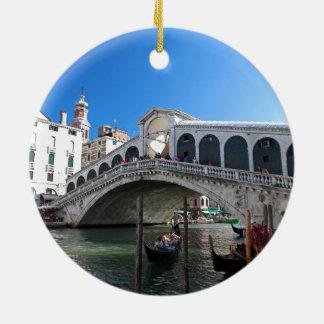 ¡Magnífico! Última Venecia, Rialto, Gran Canal Adornos De Navidad