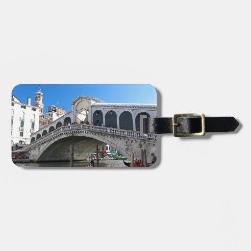 ¡Magnífico! Última Venecia, Rialto, Gran Canal Etiquetas Maletas
