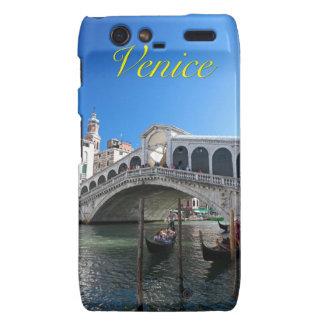 ¡Magnífico! Última Venecia, Rialto, Gran Canal Droid RAZR Fundas