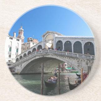¡Magnífico! Última Venecia, Rialto, Gran Canal Posavasos Manualidades
