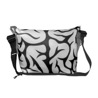 Magnified Brain Messenger Bag