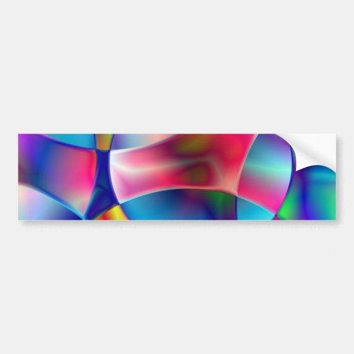 Magnified Bumper Sticker
