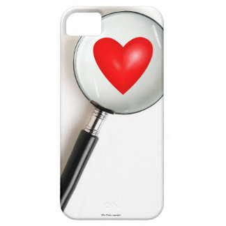 Magnified Heart Funny iPhone 5 Case