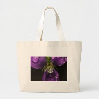 Magnified Stamen Large Tote Bag