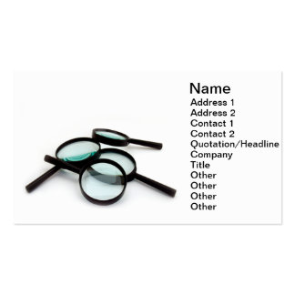 Magnifiers Business Card