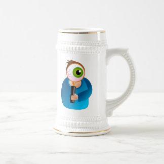 Magnifique al hombre taza
