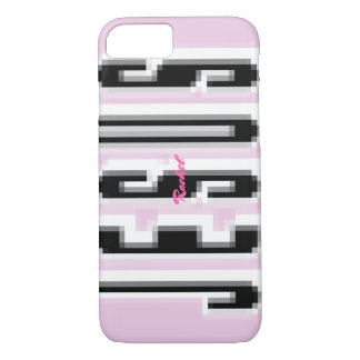 Magnify JESUS - black & white iPhone 8/7 Case