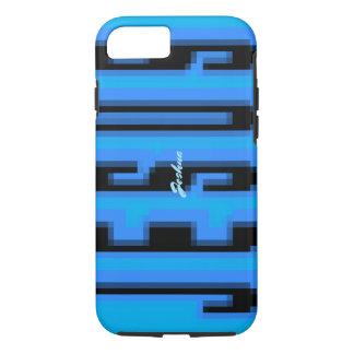 Magnify JESUS - blue & black iPhone 8/7 Case