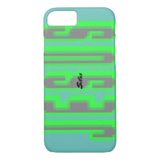 Magnify JESUS - green & gray iPhone 8/7 Case