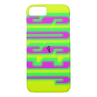Magnify JESUS - green & pink iPhone 8/7 Case
