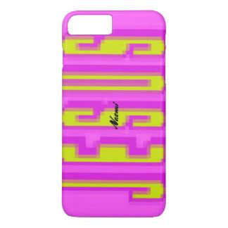 Magnify JESUS - yellow & pink iPhone 8 Plus/7 Plus Case