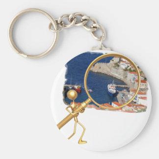 Magnify Port Hydra Keychain