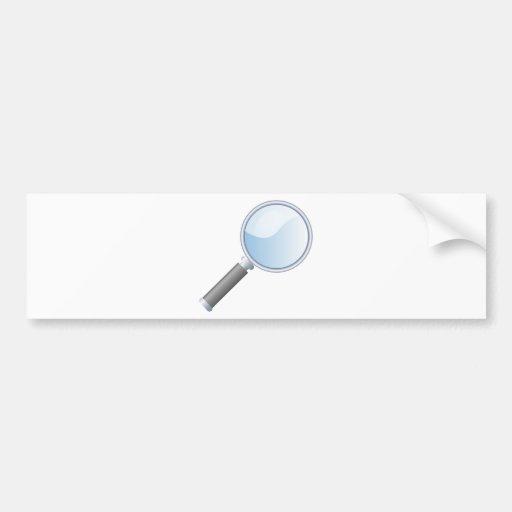 magnifying-glass-18925 bumper sticker