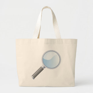 magnifying-glass-18925 large tote bag