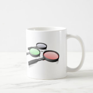 Magnifying Glass 3 Classic White Coffee Mug