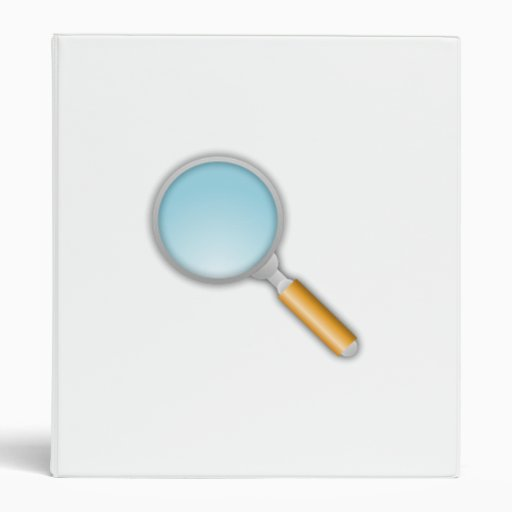 Magnifying Glass Binders