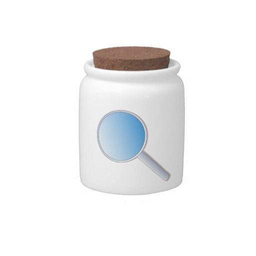Magnifying Glass Candy Jars