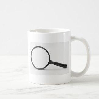 magnifying glass coffee mug