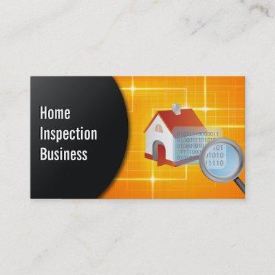 Home inspection modern black carbon fiber business card zazzle colourmoves