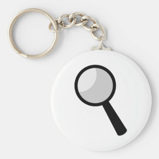 Magnifying Glass Keychain