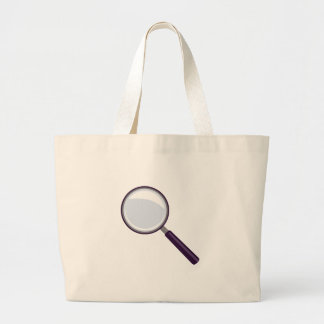 Magnifying Glass Large Tote Bag