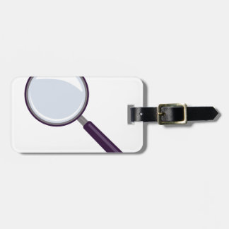 Magnifying Glass Luggage Tag