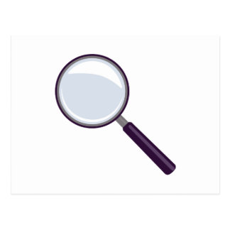 Magnifying Glass Postcard