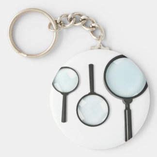 magnifying glass set keychain