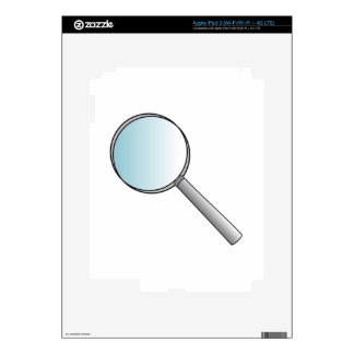 Magnifying Glass iPad 3 Decals
