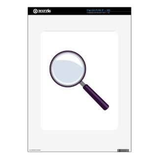 Magnifying Glass Skins For The iPad