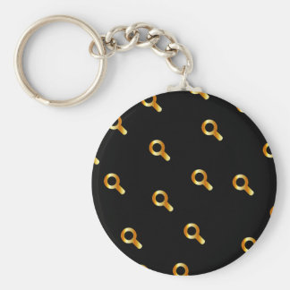 magnifying glasses keychain