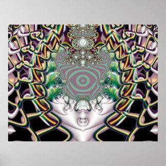 Magnitude - Fractal Art Poster