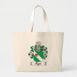Magno Family Crest Tote Bags