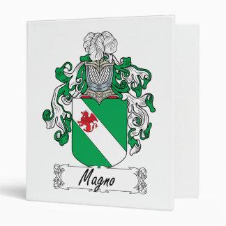 Magno Family Crest Binder