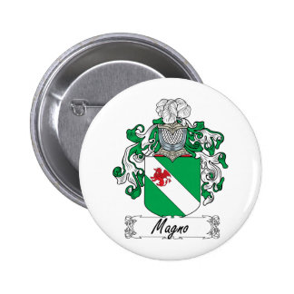 Magno Family Crest Pinback Buttons