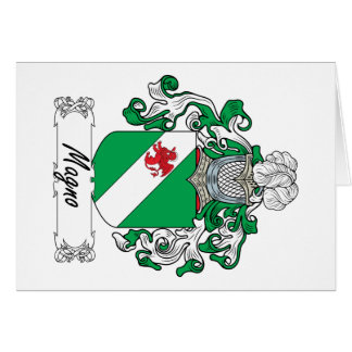 Magno Family Crest Cards